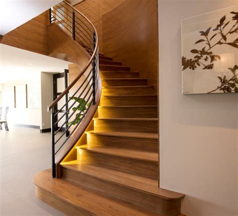 Home Interior Arch Designs 17 curved staircase designs ideas design trends