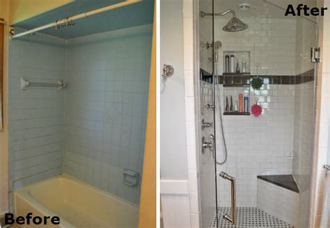 Bathroom Shower Makeovers by Small Bathroom Makeover Before After Bob Vila