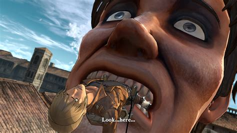 Attack On Titan S Multiplayer Mode Revealed Gamespot