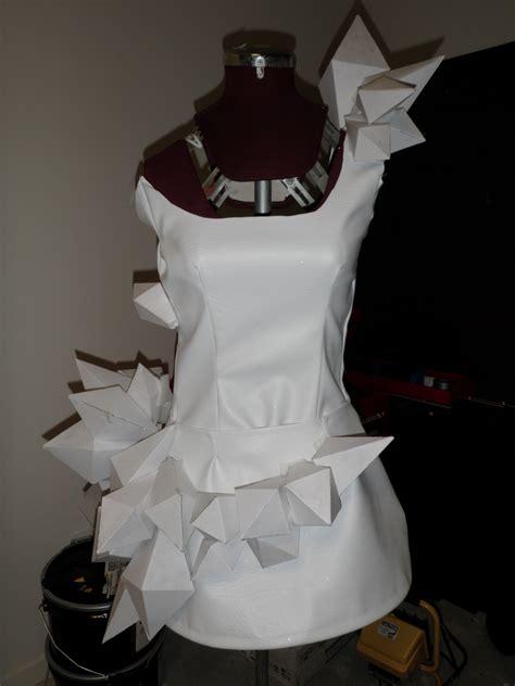 origami dresses gaga origami dress sewing projects burdastyle