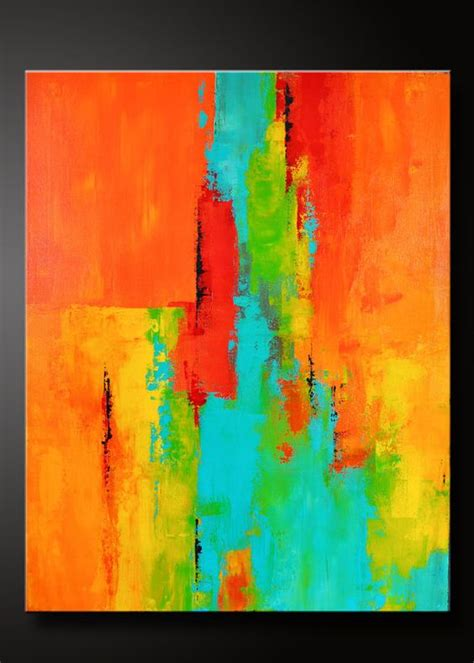 acrylic paint abstract 22 x 28 abstract acrylic painting on canvas