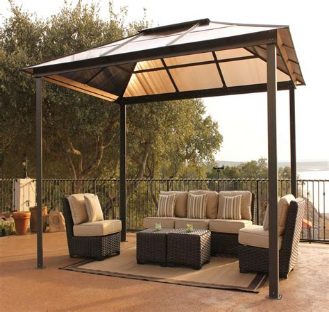 patio gazebo canopy backyard canopy gazebo versatile and highly portable