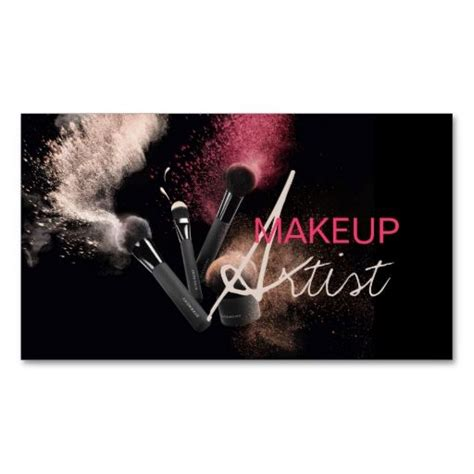 make up artist card 36 best images about mua business card on