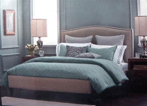 fieldcrest comforter sets fieldcrest luxury icon sterling blue 3 pc comforter set