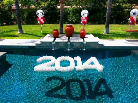 swimming pool decorations 25 best ideas about floating pool decorations on