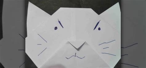 origami cat how to how to make an origami cat for origami beginners