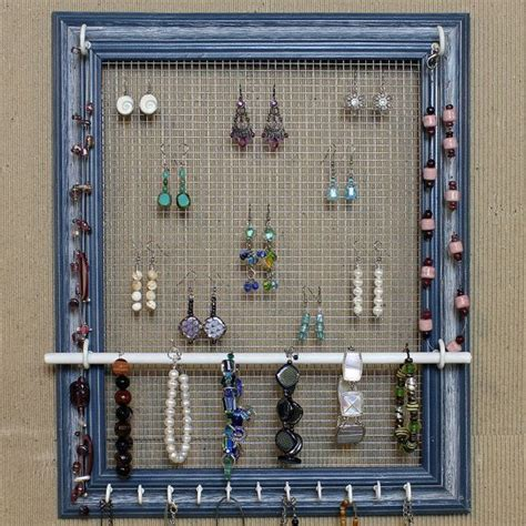 how to make jewelry holder picture frame diy jewelry organizer can buy this one or make your own