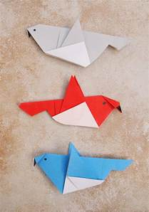 origami bird easy simple origami birds for or a grown up who needs a