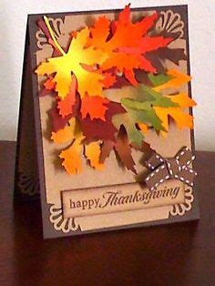 how to make greeting cards with leaves greeting cards handmade on paper crafting