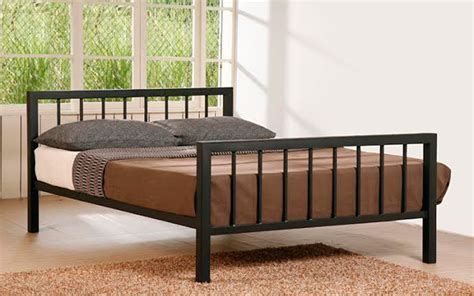 small metal bed frame time living metro metal bed frame mattress