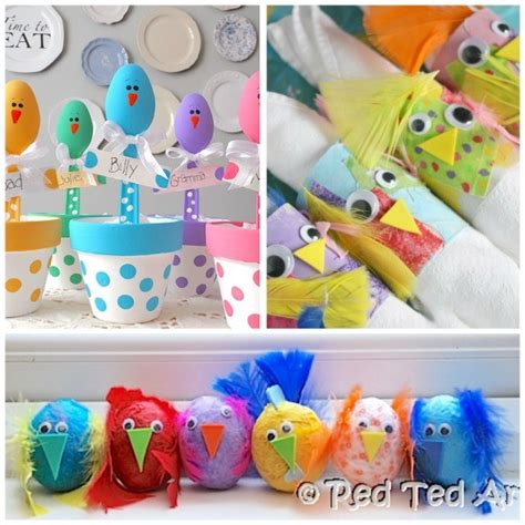 crafts for to make for 12 easy adorable easter crafts happy hooligans