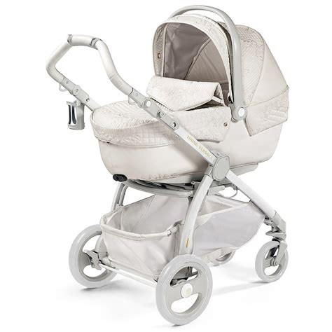 young versace white baby stroller bassinet amp changing