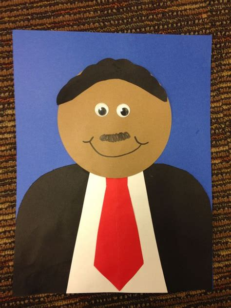 mlk crafts for simple but adorable martin luther king jr craft for