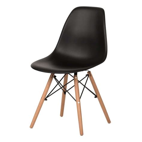 eames style dining chair black eames dining chair charles eames style