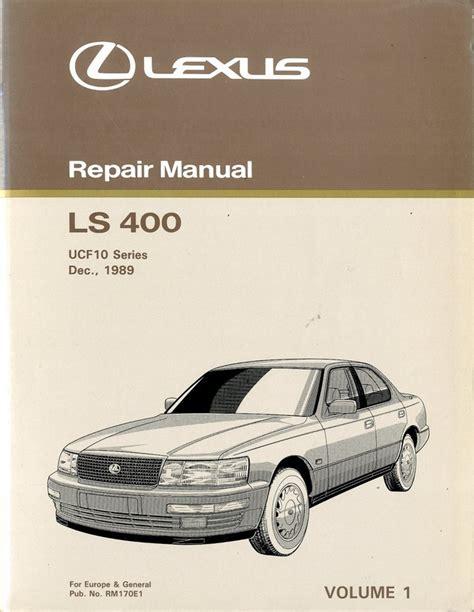 car repair manuals download 1996 lexus ls electronic toll collection service manual 1996 lexus ls body repair manual lexus gs300 repair manual ebay