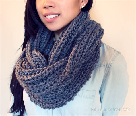 knitting scarf pattern purllin textured november infinity scarf free pattern