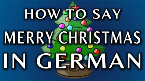 how to say how to say merry in german