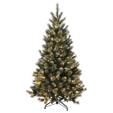 pre lit white tree uk green glitter tree pre lit warm white lights