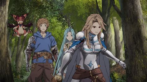 2 the animation review granblue the animation episodes 1 2