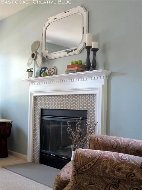 diy chalk paint fireplace how to paint a fireplace infarrantly creative