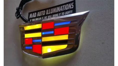 Cadillac Badge by Custom Lighted New Cadillac Badge I G Lights R Us
