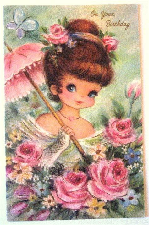 how to make vintage cards vintage birthday card lavori a maglia