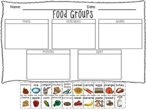 free printable for groups food groups printable freebie nutrition kindergarten