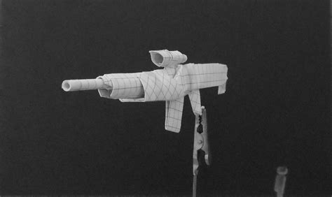 origami gun origami guns assault rifle by solidmark on deviantart