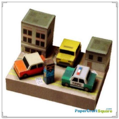 paper craft city grand theft auto papercraft vice city