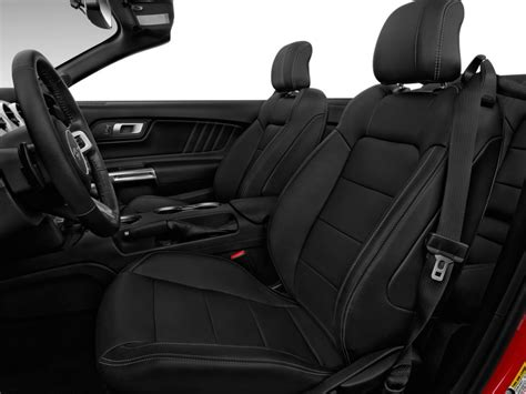Ford Mustang Seats by Image 2017 Ford Mustang Gt Premium Convertible Front