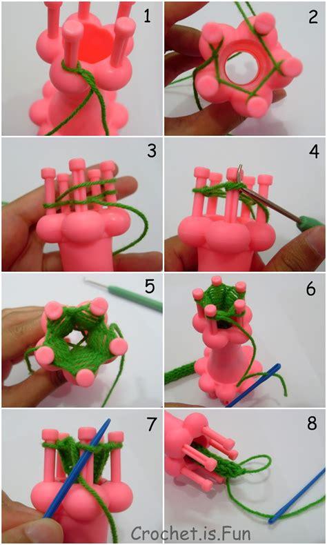 spool loom knitting patterns crochet is tutorial how to spool knitting