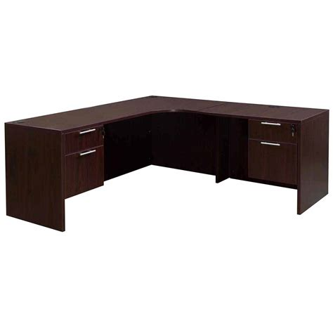 right l shaped desk l shaped desk with right return mesa l shaped desk with