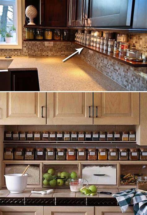 kitchen counter storage ideas best 25 kitchen organization ideas on home