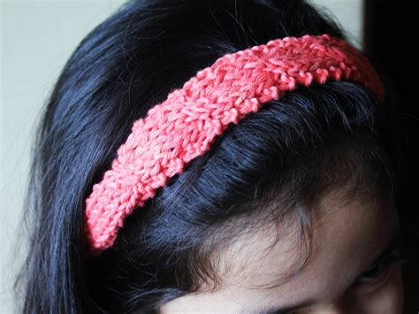 how to knit headbands 4 ways to make a headband wikihow
