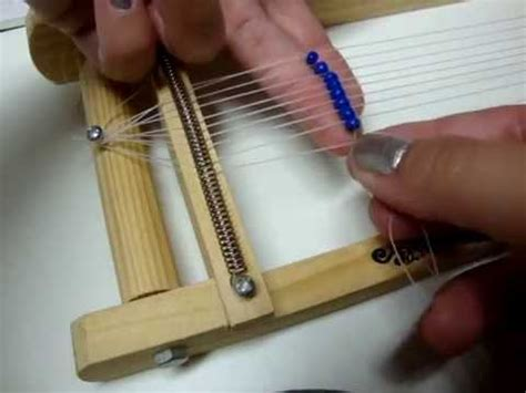how to set up a bead loom how to bead weave