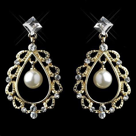of pearl chandelier earrings rhinestone pearl chandelier earrings