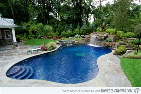 amazing backyard pools 15 amazing backyard pool ideas home design lover
