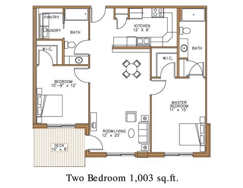 two bed two bath floor plans building plan of two bedroom flat bedroom and bed reviews