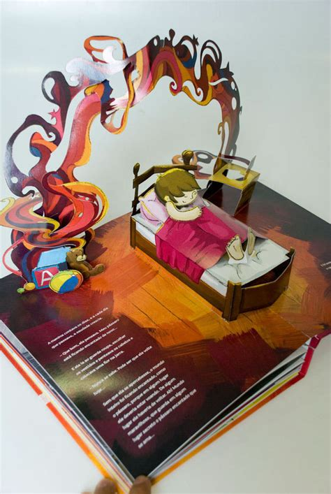 how to make a pop up picture book pop up book on behance
