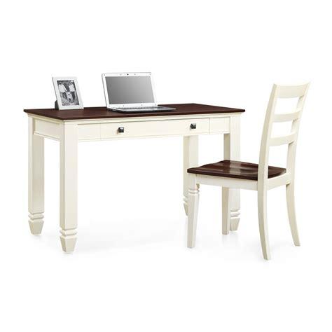 whalen furniture desk whalen furniture white and cherry writing desk chair set atg stores