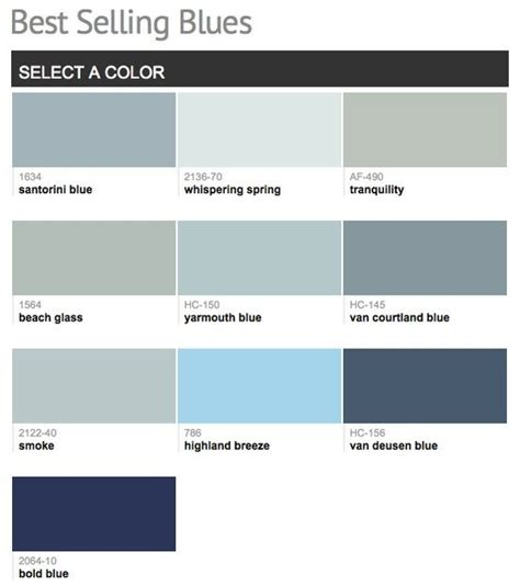 paint colors for blue best selling popular shades of blue paint colors from