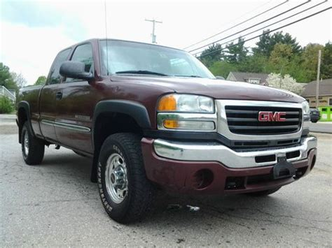 2003 gmc sierra 2500 recalls cars com purchase used 2003 gmc sierra 2500 hd sle extended cab pickup 4 door 6 0l 4x4 in hudson new