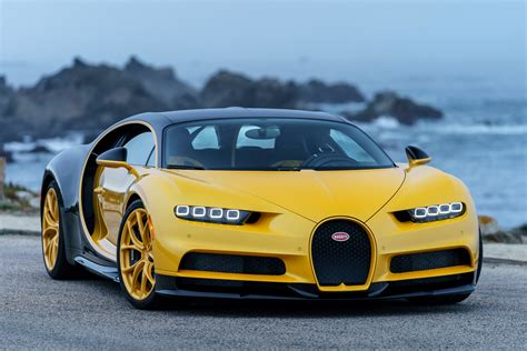 Bugati Car by The Bugatti Chiron Finally Lands In The Usa Evo