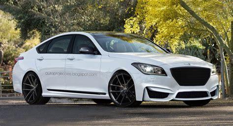 Hyundai Genesis R Spec Sedan by Hyundai Genesis R Spec V8 Design Study For High Po Luxury
