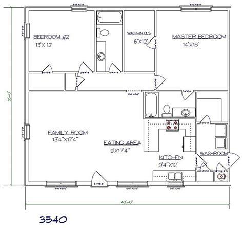 metal houses floor plans best 25 30x40 pole barn ideas on 30x40 house