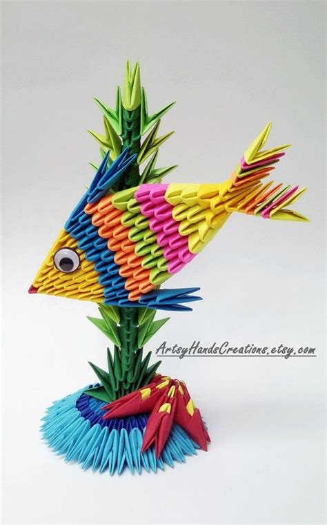 how to make 3d origami fish 17 best ideas about origami fish on origami