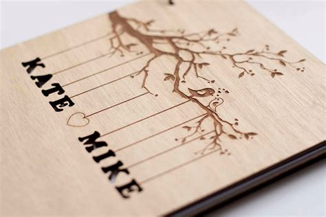 wedding picture guest book rustic wedding guest book wedding guestbook custom guest book