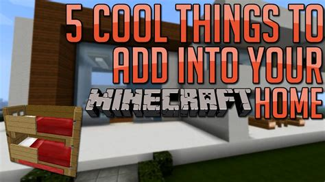 what to do with room in house minecraft 5 cool things to add to your house base ep 5