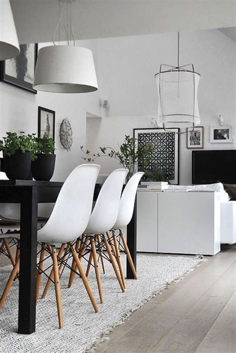 white dining room sets 10 modern black and white dining room sets that will inspire you