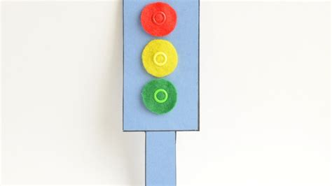 lights for crafts how to make a felt and cardboard traffic light diy
